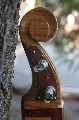 Dulcimer: Head: Close view