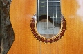 Eight String Carmanah Guitar: Sound hole